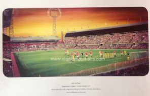 Manchester United 'Old Trafford 1977' A3 print